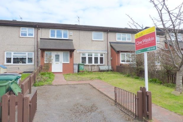 Thumbnail Terraced house to rent in Newdales Close, Prenton