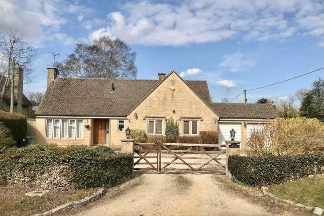 Thumbnail Detached bungalow for sale in Baunton Lane, Cirencester