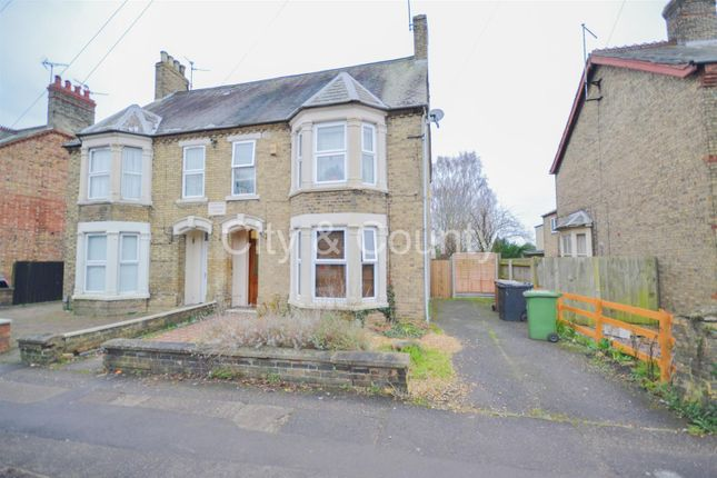 Thumbnail Semi-detached house for sale in Eastfield Road, Peterborough