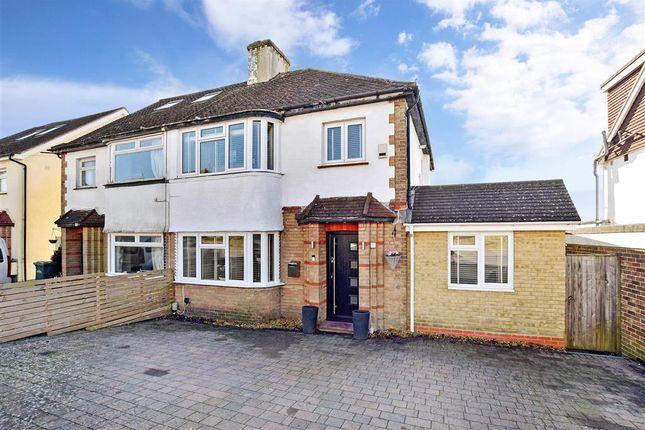 Thumbnail Semi-detached house for sale in Singleton Road, Patcham, Brighton, East Sussex