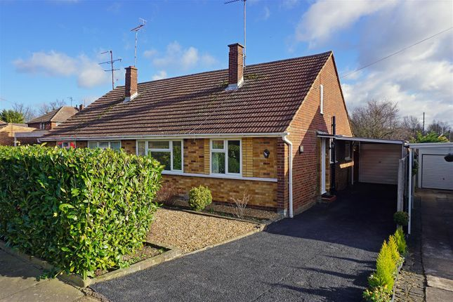 Thumbnail Semi-detached bungalow for sale in Ninesprings Way, Hitchin