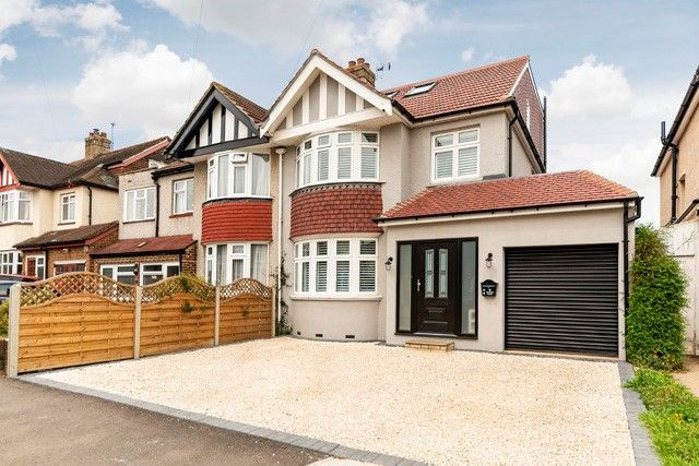Thumbnail Semi-detached house for sale in Sandhurst Avenue, Surbiton