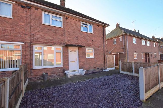 Thumbnail Semi-detached house for sale in Horsley Grove, Blurton, Stoke-On-Trent