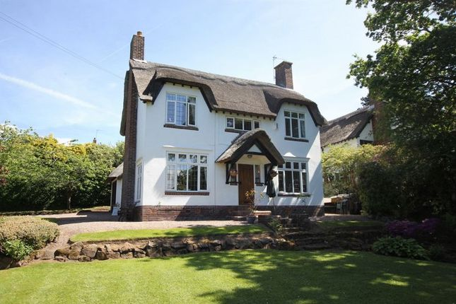 Thumbnail Detached house for sale in Farr Hall Drive, Lower Heswall, Wirral