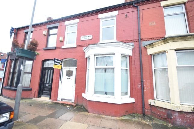 Thumbnail Terraced house for sale in Grosvenor Road, Wavertree, Liverpool