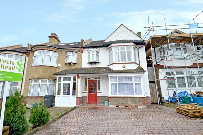 Thumbnail Semi-detached house for sale in Craigen Avenue, Croydon