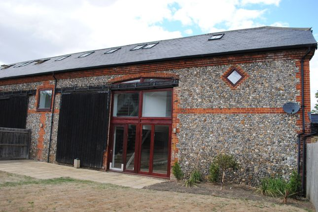 Thumbnail Barn conversion to rent in Church Farm Barns, Short Road, Snailwell, Newmarket