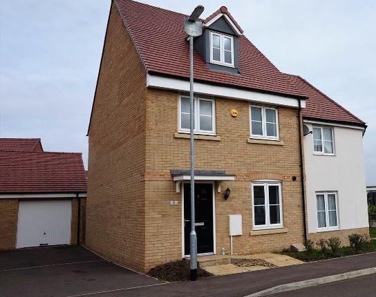 Thumbnail Semi-detached house for sale in Herschel Green, Biggleswade