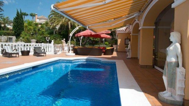 Pool Area (2) of Spain, Málaga, Mijas