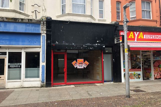 Retail premises to let in Guildhall Street, Folkestone