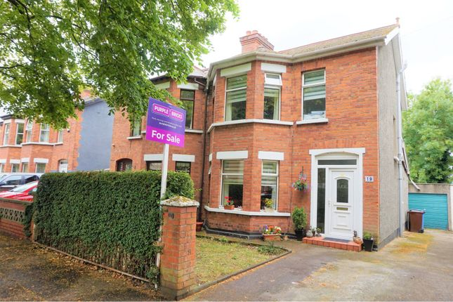 Thumbnail Semi-detached house for sale in Sagimor Gardens, Belfast