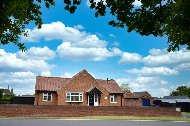 Thumbnail Bungalow for sale in Main Street, Leconfield, East Riding Of Yorkshire
