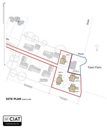 Thumbnail Land for sale in Chantry Lane, Necton, Swaffham