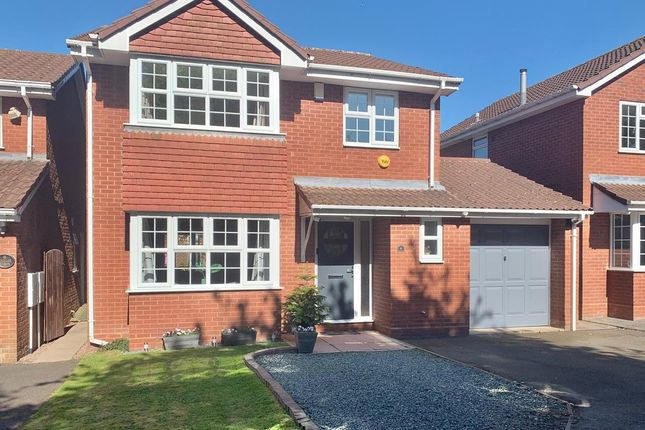 Thumbnail Detached house for sale in Muxloe Close, Bloxwich, Walsall