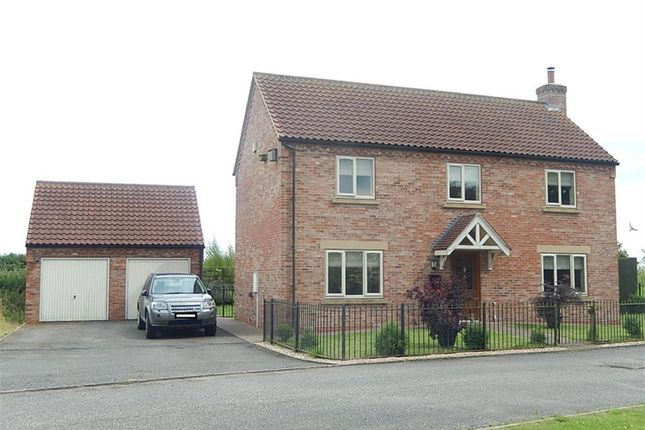 Thumbnail Equestrian property for sale in Old Stack Yard Lane, Gainsborough