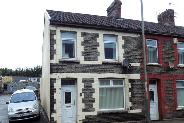Thumbnail Terraced house for sale in Nantgarw Road, Caerphilly