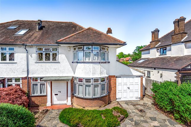 Thumbnail Semi-detached house for sale in Nightingale Lane, Bromley