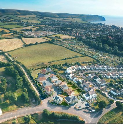 Ariel View of The Brook, Prospect Way, Swanage BH19