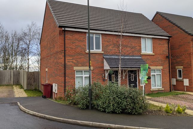 Thumbnail Semi-detached house to rent in Highfield Avenue Langwith Junction, Mansfield Nottingham