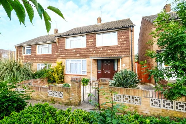 Thumbnail Semi-detached house for sale in Mitchell Walk, Swanscombe, Kent