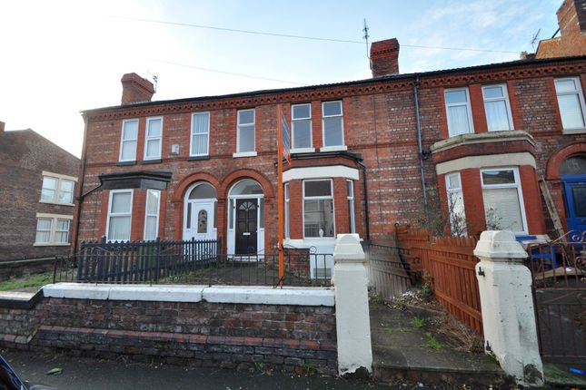 Thumbnail Terraced house to rent in Stringhey Road, Wallasey