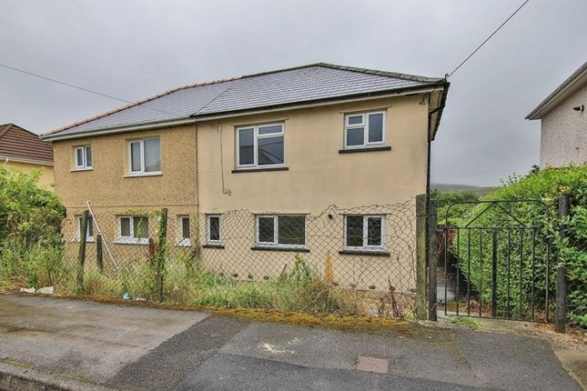 Thumbnail Semi-detached house for sale in Lansbury Road, Brynmawr, Ebbw Vale