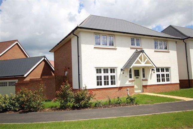 Thumbnail Detached house for sale in Biddestone Avenue, Badbury Park, Coate, Swindon