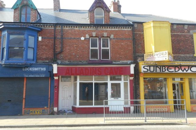 Retail premises for sale in Murray Street, Hartlepool