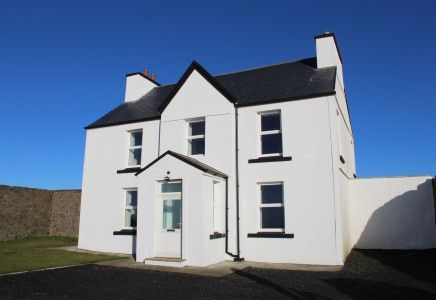 Thumbnail Property to rent in Rental – Strandhall Farmhouse, Shore Road, Strandhall, Castletown, Isle Of Man