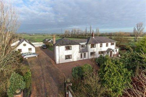 Thumbnail Detached house for sale in Back Lane, Longton, Preston, Lancashire