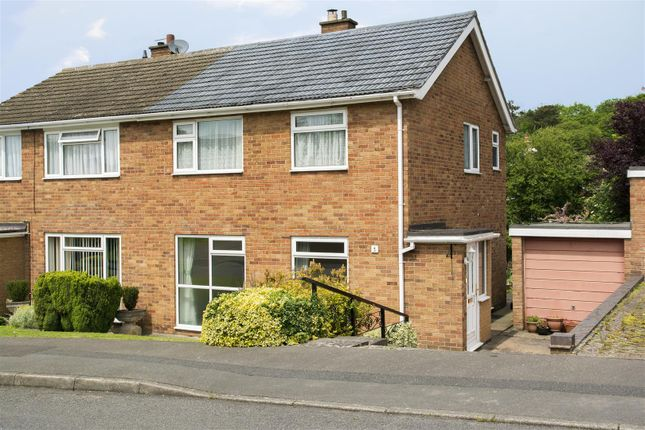 Thumbnail Semi-detached house for sale in Redmoor Close, Market Bosworth, Nuneaton