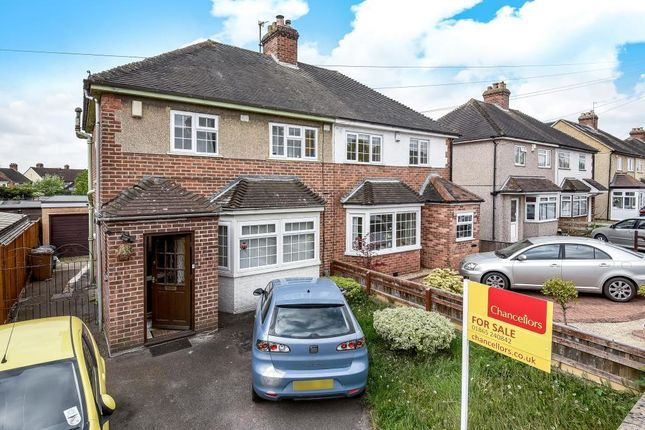 Thumbnail Semi-detached house for sale in Cranmer Road, Oxford