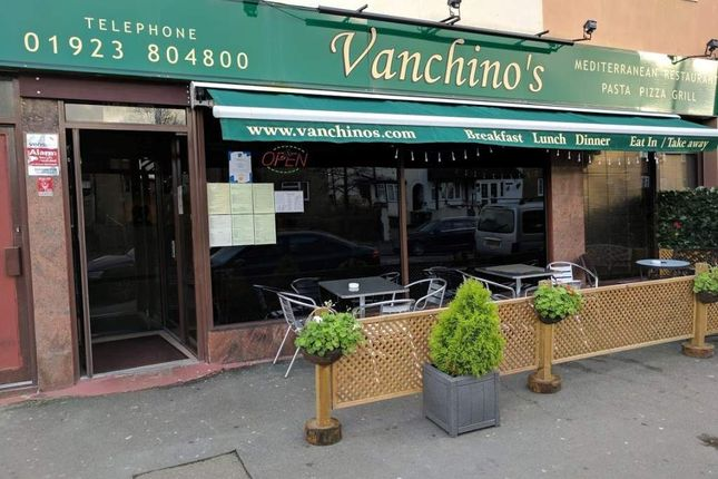 Thumbnail Restaurant/cafe for sale in St. Albans Road, Watford
