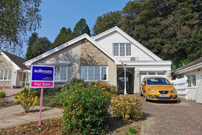 Thumbnail Bungalow for sale in Woodlands Park Drive, Cadoxton, Neath