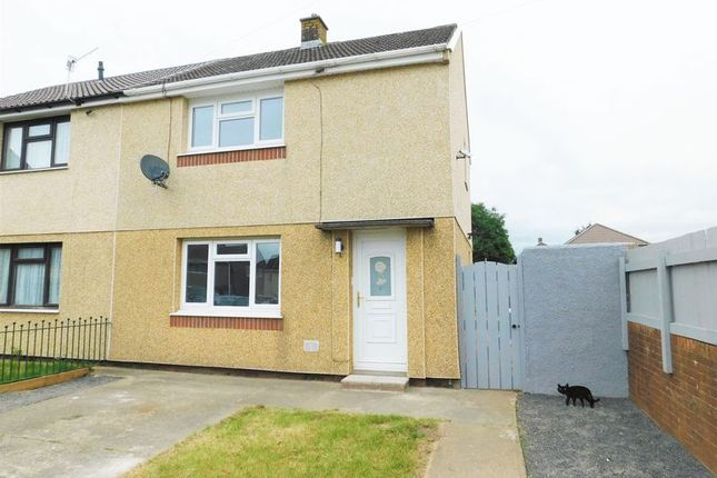 2 bed semi-detached house to rent in Gaer Place, Gelligaer, Hengoed CF82