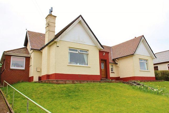 Thumbnail Detached bungalow for sale in 'lismore', Leswalt High Road, Stranraer