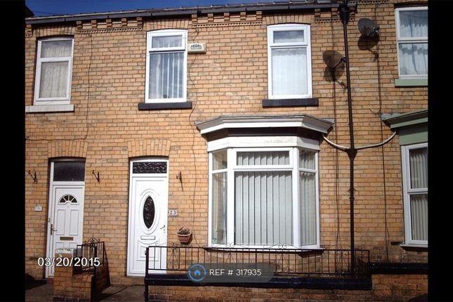 Thumbnail Terraced house to rent in Caledonia Street, Scarborough