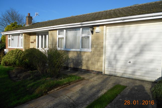 Thumbnail Bungalow to rent in Wenton Close, Cottesmore, Oakham, Rutland