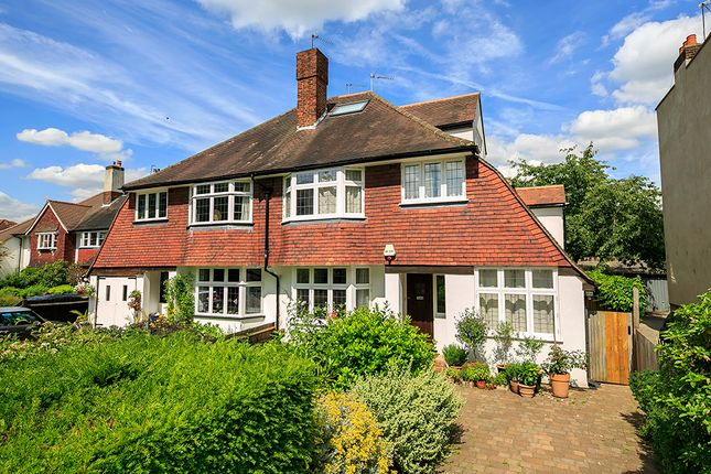 Thumbnail Semi-detached house to rent in Park Road, Twickenham