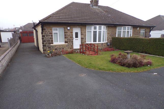 Thumbnail Semi-detached bungalow for sale in Leaventhorpe Lane, Thornton, Bradford