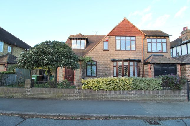 Thumbnail Detached house for sale in Fontmell Park, Ashford, Middlesex