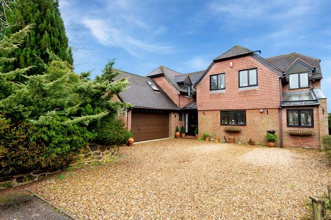 Thumbnail Detached house for sale in Heath Road, Great Brickhill, Milton Keynes