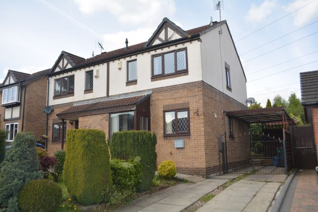 Thumbnail Semi-detached house for sale in Fernleigh Drive, Brinsworth