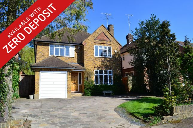 Thumbnail Detached house to rent in Ardross Avenue, Northwood