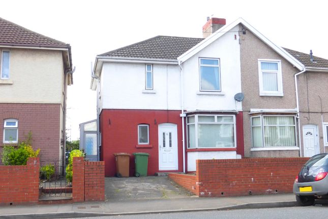 Thumbnail Semi-detached house for sale in Pontygwindy Road, Caerphilly