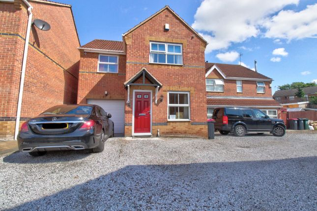 Thumbnail Detached house for sale in Swallow Crescent, Rawmarsh, Rotherham