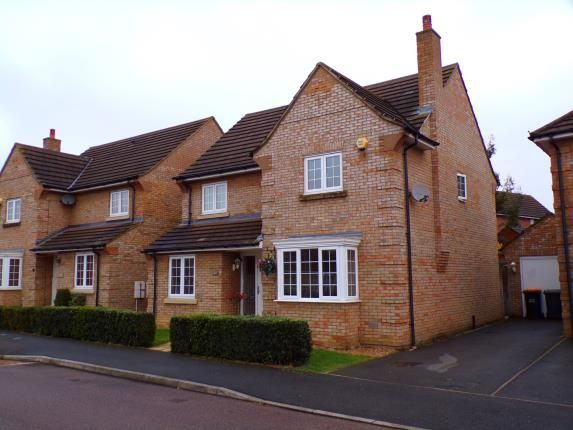 Thumbnail Detached house for sale in Victor Close, Shortstown, Bedford, Bedfordshire