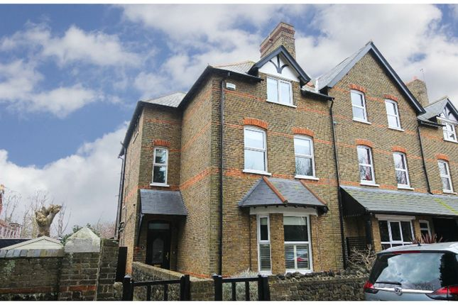 Thumbnail End terrace house for sale in Westbury Road, Westgate-On-Sea
