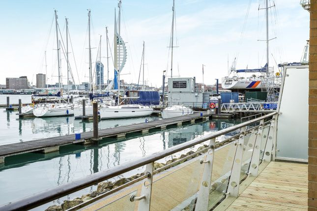 Thumbnail Flat to rent in Gosport Marina, Mumby Road, Gosport