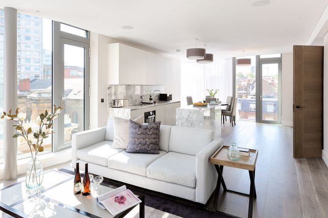 Thumbnail Flat to rent in Wilfred Street, London